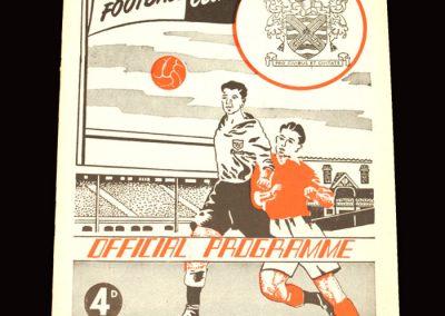Fulham v Blackburn 19.12.1959