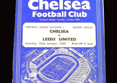 Chelsea v Leeds 23.01.1960