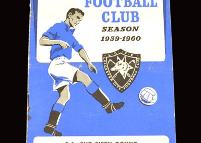 Leicester v West Brom 20.02.1960 - FA Cup 5th Round