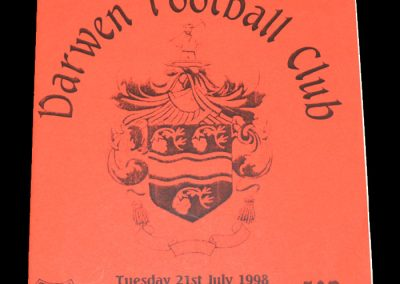 Man Utd Youth v Darwin 21.07.1998
