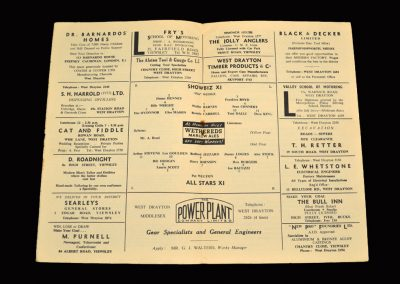 Showbiz 11 v All Starts 11 28.03.1960 (Sean Connery)