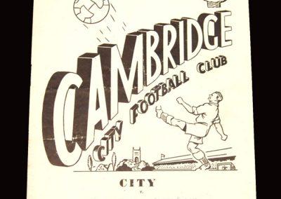 Cambridge City v Bath City 07.04.1960
