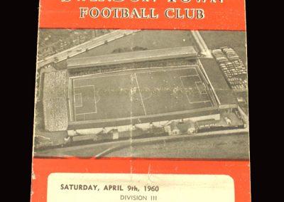 Swindon v Colchester 09.04.1960