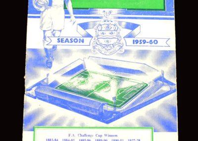 Blackburn v Newcastle 09.04.1960