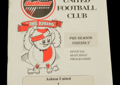 Man Utd v Ashton 25.07.1998 - Friendly