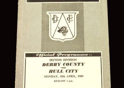 Derby v Hull 18.04.1960