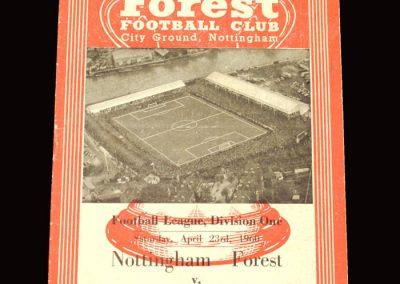 Notts Forest v Newcastle 23.04.1960