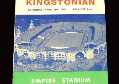 Hendon v Kingstonian 23.04.1960 - FA Amateur Cup Final