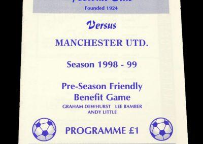 Man Utd v Fulwood 01.08.1998