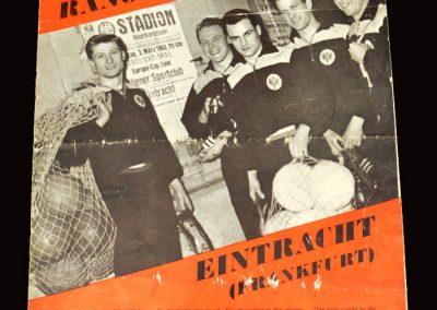 Rangers v Eintract 05.05.1960 - European Cup Semi Final