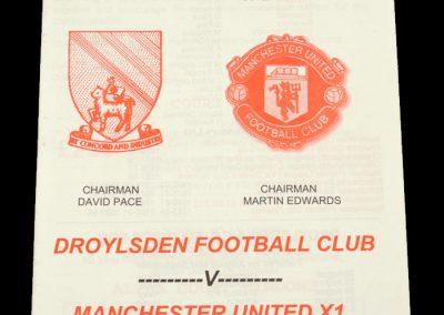 Man Utd v Droylsden 13.08.1998 - Friendly