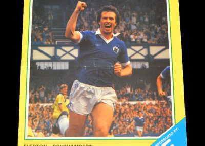Everton v Southampton 09.01.1982