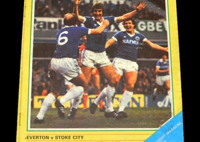 Everton v Stoke 13.02.1982