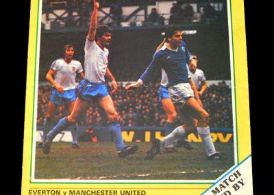 Everton v Man Utd 10.04.1982