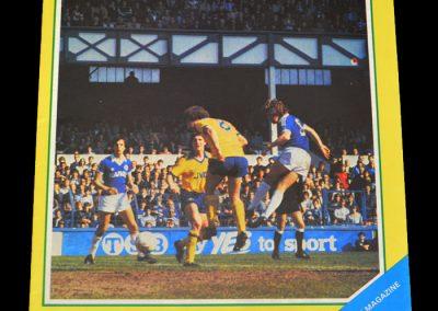 Everton v Wolves 08.05.1982