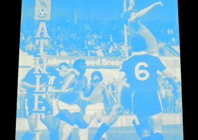 Everton v Oldham 22.08.1981 - Friendly