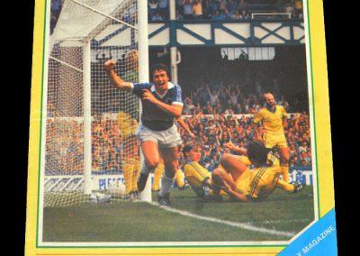 Everton v Notts County 22.09.1981