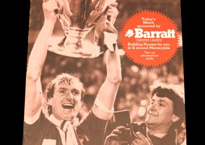 Everton v Liverpool 07.11.1981