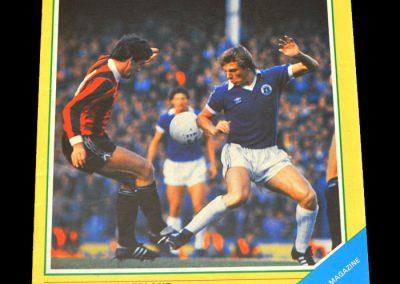 Everton v Sunderland 21.11.1981