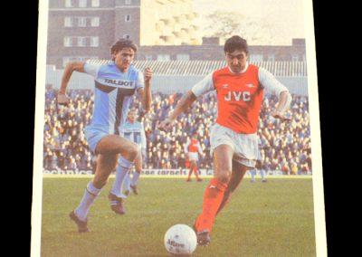 Everton v Arsenal 28.11.1981
