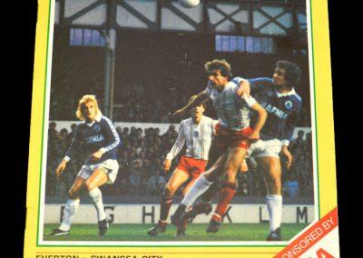 Everton v Swansea 05.12.1981
