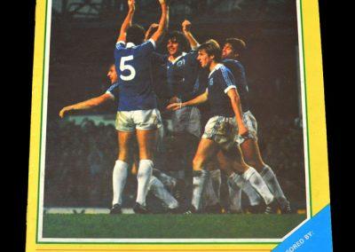 Everton v Aston Villa 19.12.1981