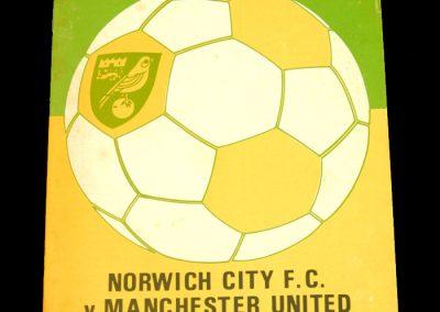 Man Utd v Norwich 28.09.1974