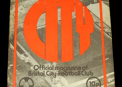Man Utd v Bristol City 09.11.1974