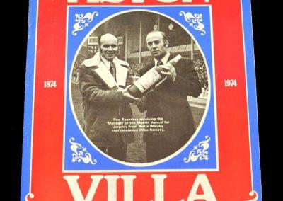 Man Utd v Aston Villa 22.02.1975