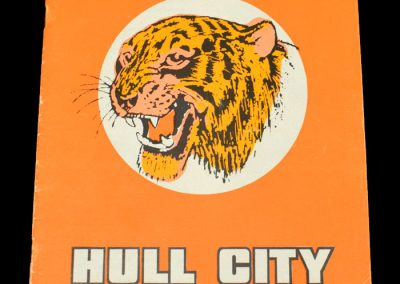 Hull v Fulham 05.09.1972 - League Cup 2nd Round