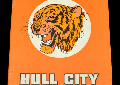 Hull v Burnley 16.09.1972