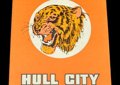 Hull v Portsmouth 14.10.1972