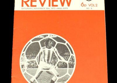Hull v Sunderland 18.11.1972