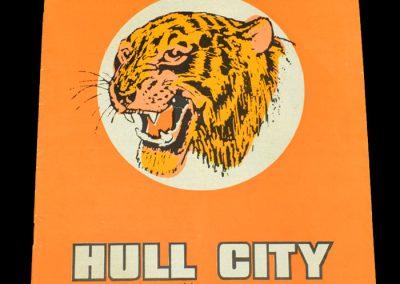 Hull v Blackpool 25.11.1972