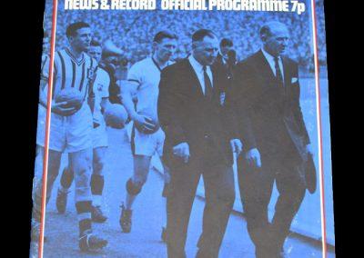 Hull v Aston Villa 02.12.1972