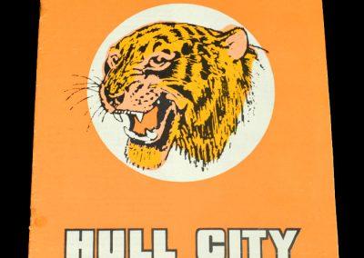 Hull v Cardiff 16.12.1972