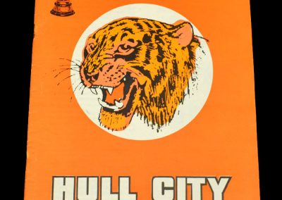 Hull v Stockport 23.01.1973 - FA Cup 3rd Round Replay (postponed on 16.01.1973)