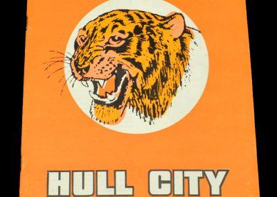 Hull v Millwall 17.02.1973