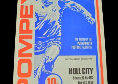 Hull v Portsmouth 10.03.1973