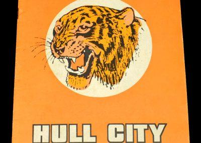 Hull v Sunderland 21.04.1973