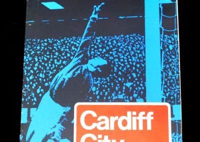 Hull v Cardiff 09.05.1973