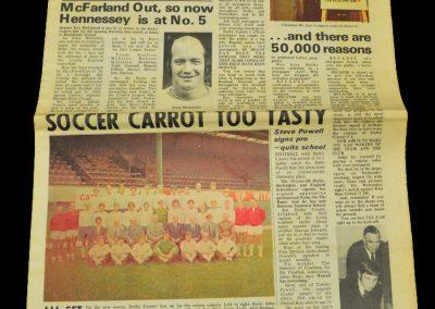 Man Utd v Derby 14.08.1971