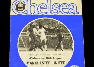 Man Utd v Chelsea 18.08.1971