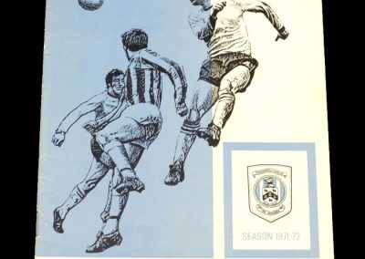Man Utd v Huddersfield 09.10.1971