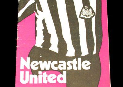 Man Utd v Newcastle 23.10.1971