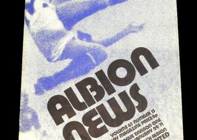 Man Utd v West Brom 29.01.1972