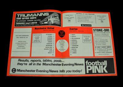 Man Utd v Everton 08.03.1972