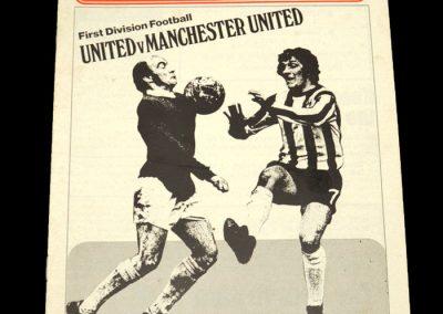 Man Utd v Sheff Utd 04.04.1972