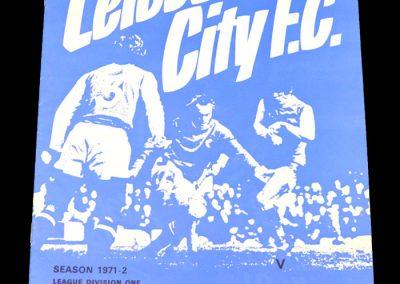 Man Utd v Leicester 08.04.1972