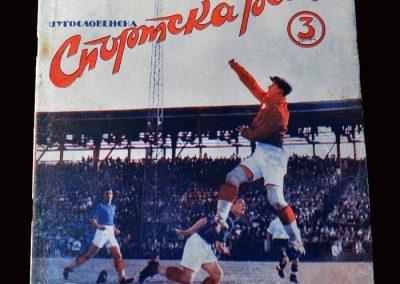 England v Yugoslavia 18.05.1939